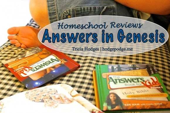 Answers in Genesis #Homeschool Reviews at www.hodgepodge.me