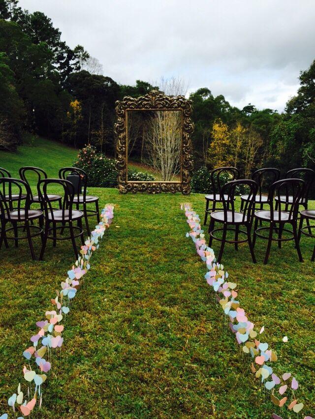 Maleny Sunshine Coast hinterland wedding sunshinecoastwedding goldframe