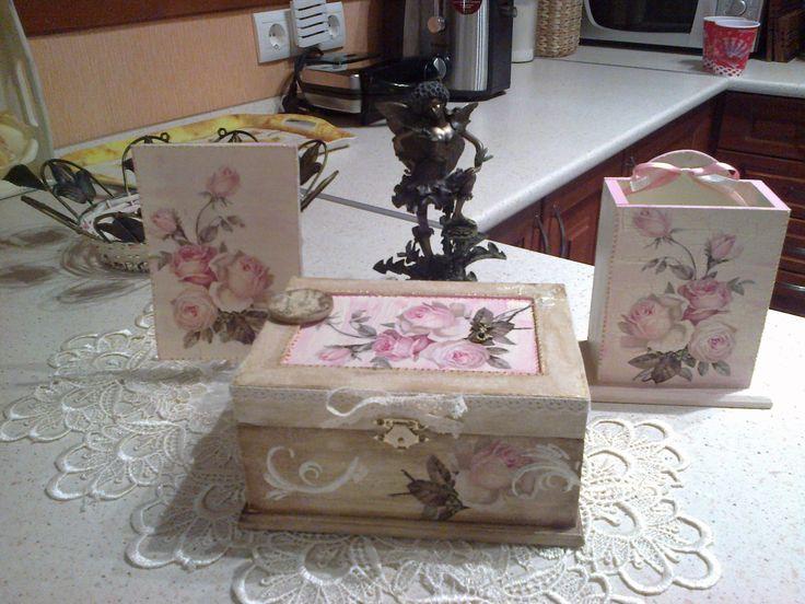 vintage doboz és kiegészítők