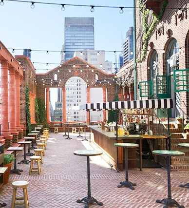 The 10 BEST outdoor dining spots in NYC