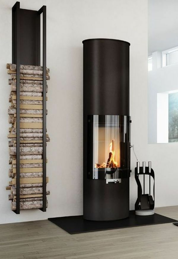 brennholz richtig lagern wandregal