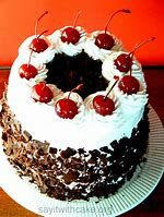 Image result for black forest cake images