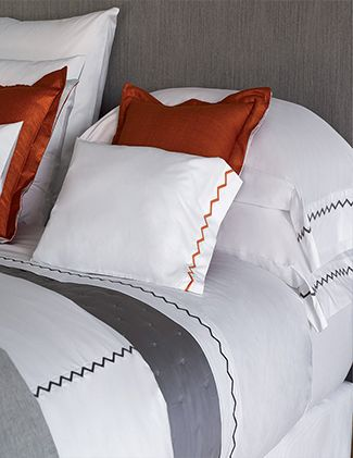 Zig Zag Bed Linens - Sale by Yves Delorme | French Designer Collections