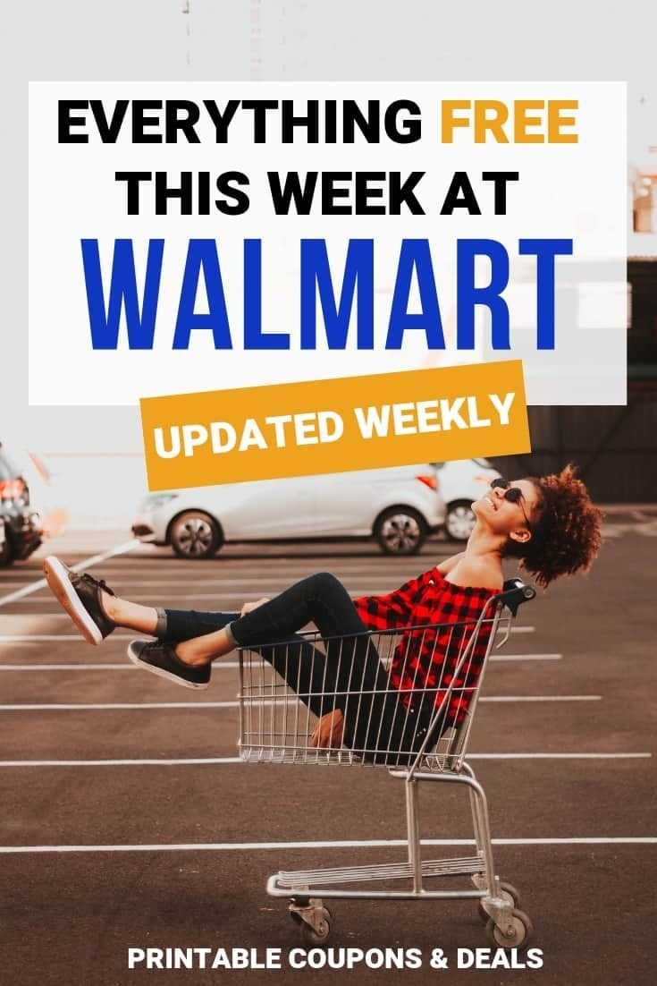 Find Out Everything That Is Free At Walmart This Week Get Up To Date Walmart Coupons At Save At Walmart Updated Week Printable Coupons Coupons Walmart Coupon