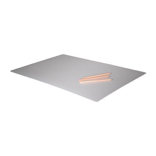 IKEA - PROJS - Desk protector EVA Plastic * TRANSPARENT * Desk Pad - 65cm x 45cm #IKEA #Modern