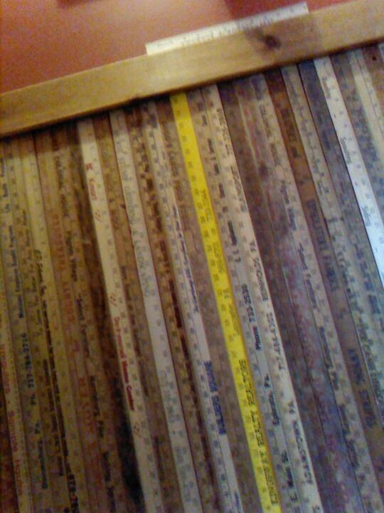 Superior Yardstick Chair Rail Part - 2: Yard Stick Chair Rail!
