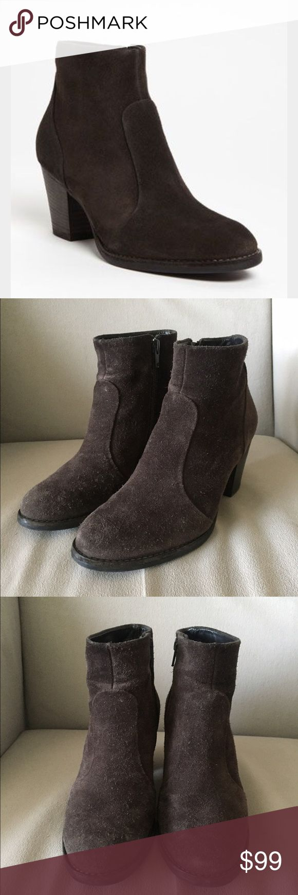 Paul Green Riley Brown Suede Boots US 6 AU 3.5 Paul Green Riley Brown Suede Boots US 6 AU 3.5 $380. Worn twice. Some wear on the right heel Paul Green Shoes Ankle Boots & Booties
