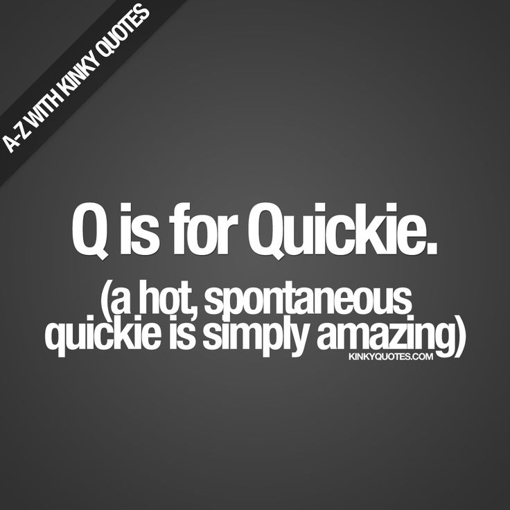 quickie sex quotes