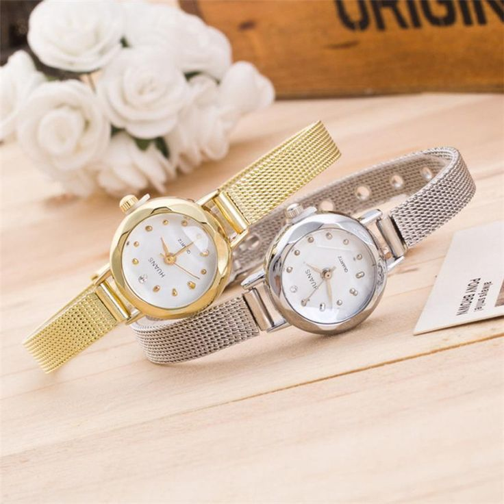 >> Click to Buy << Durable 2016 hot women watches Stainless Steel Women Ladies Stainless Steel Mesh Band Wrist Watch #Affiliate