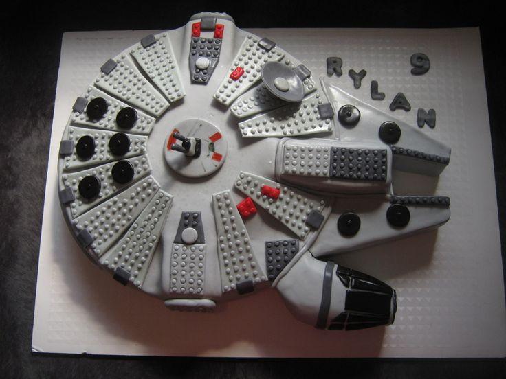 In Millenium Falcon Lego Cake Album TV / Movies Celebrity