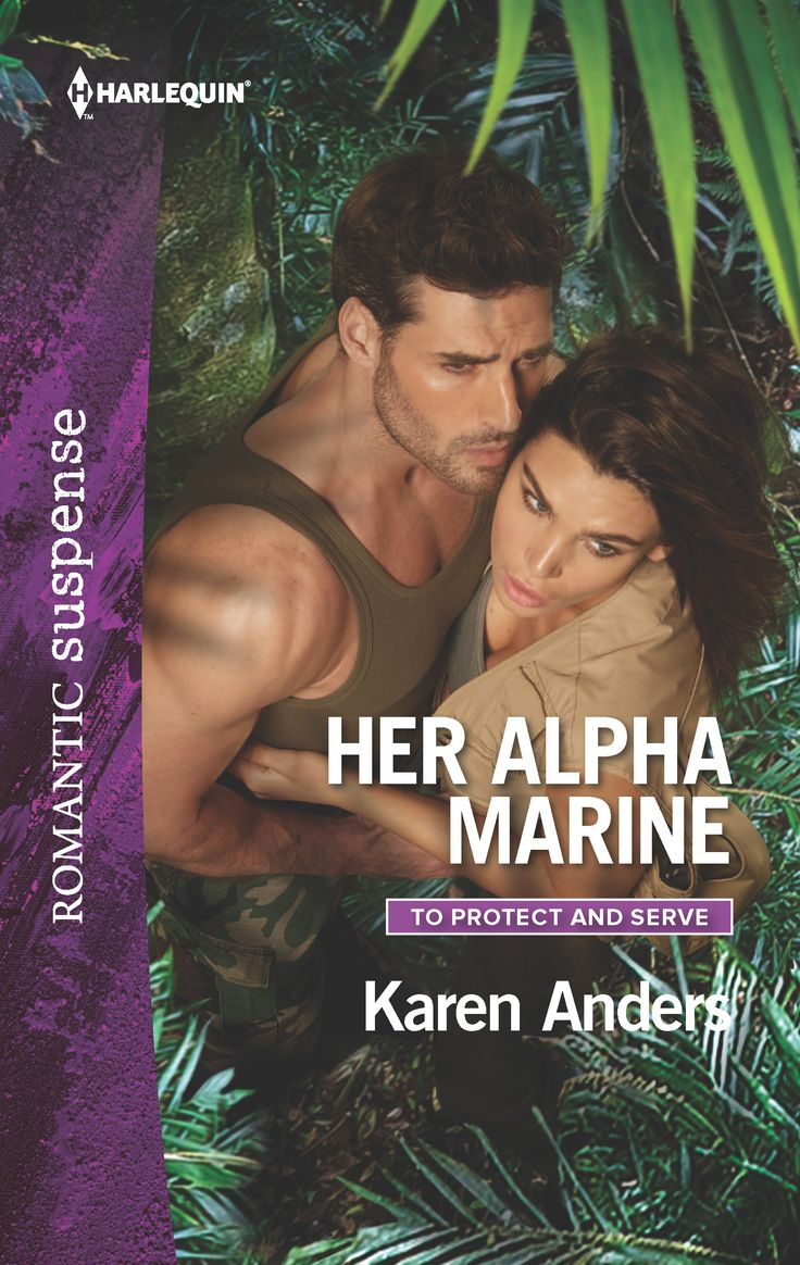 There was no shaking her alpha marine.