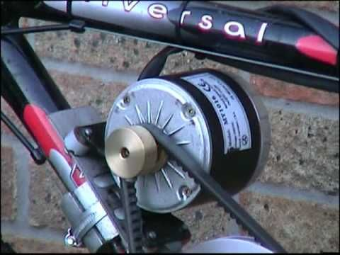 Upgraded Home Made Hybrid Electric and pedal assisted Bicycle. Using a 350w 24 volt dc motor - YouTube