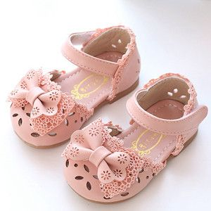 Cute Bow Hollow Girl Shoes