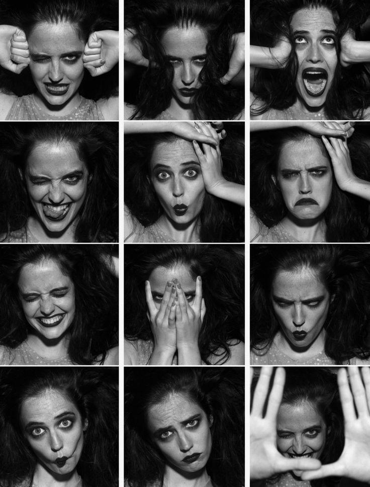 the many faces of Eva Green, photographed by Satoshi Saikusa