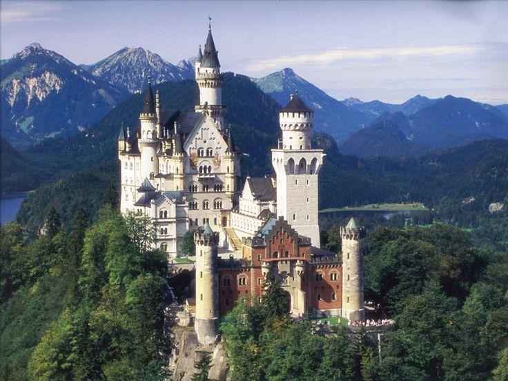Neuschwanstein Cinderella 39 S Castle Germany Germany