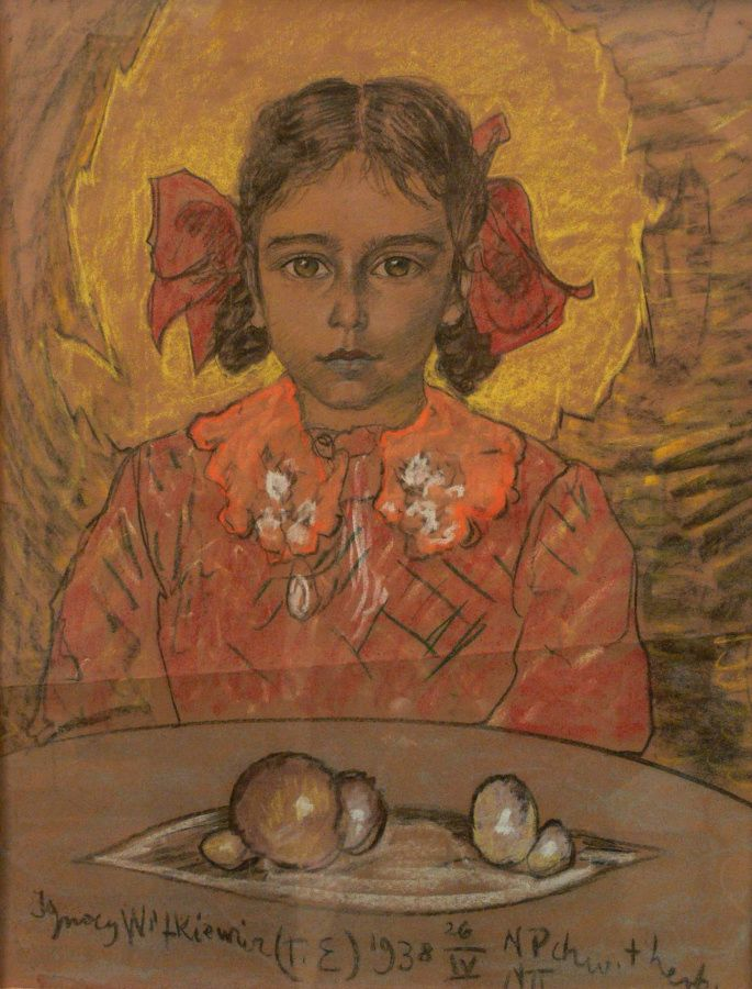 Girl's portrait, 1938 Witkacy