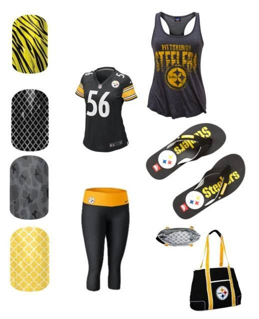Steelers Nail wraps