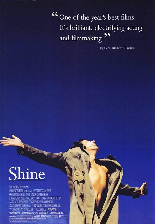 Shine Geoffrey Rush's best role