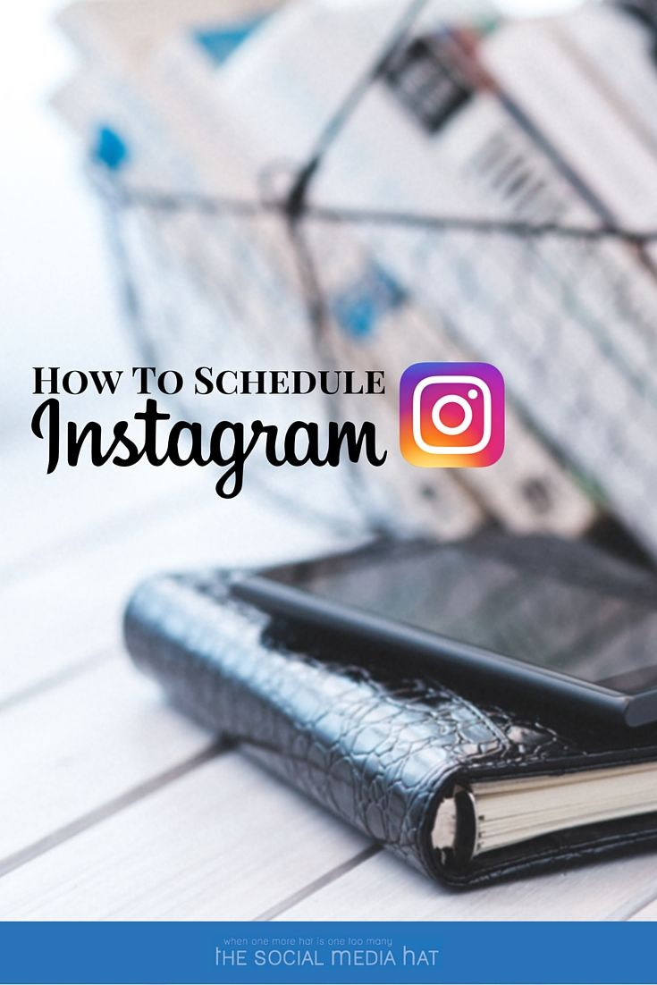 The best way to maintain an active, engaging, successful Instagram presence is to schedule your activity throughout the day when your audience is most receptive. | https://www.thesocialmediahat.com/article/how-schedule-instagram-posts via @mikeallton
