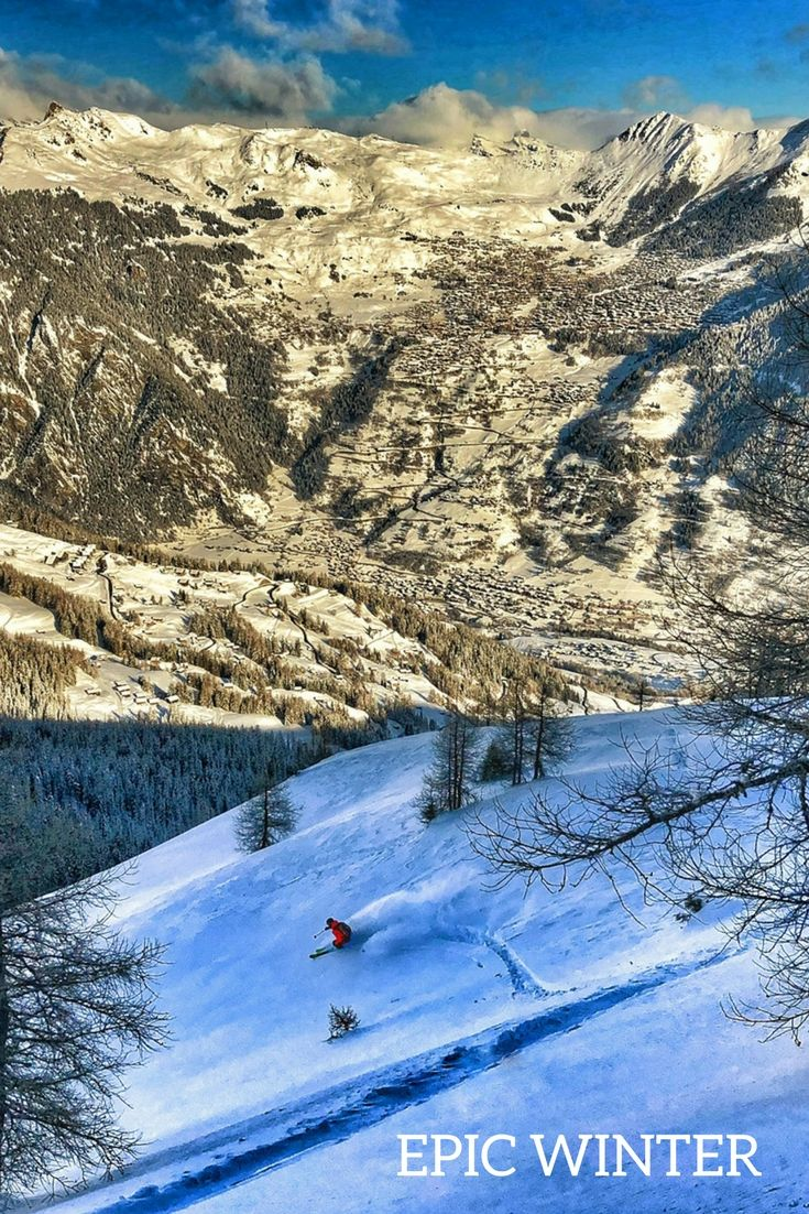 We are particularly spoiled with this winter and it will continue! #snow#bestconditions#ski#epicwinter#bruson