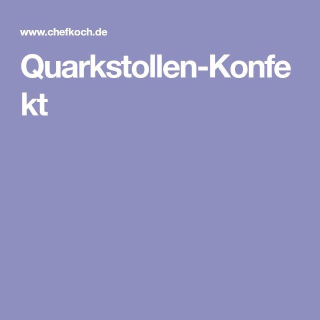 Quarkstollen-Konfekt
