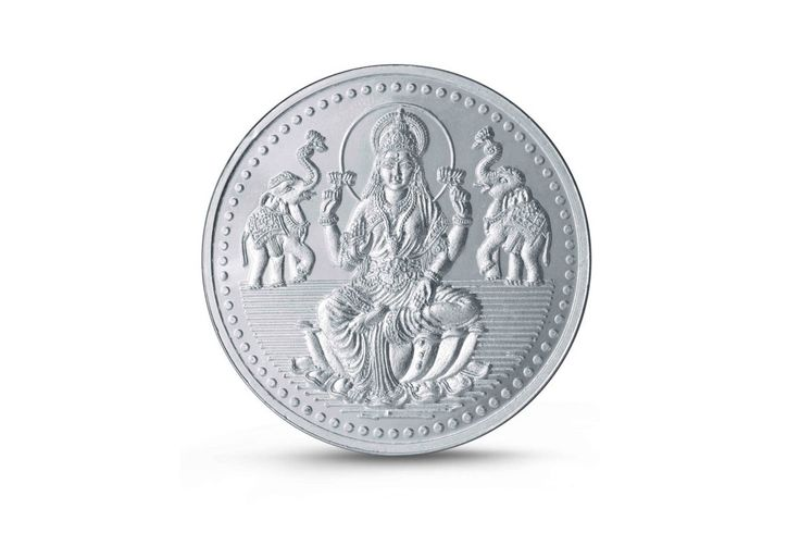 "Make this #Ugadi more auspicious!  #Shoponline for 5gms or 10gms Goddess Lakshmi embossed pure silver coin only at #BringHomeFestival and get the purchased items delivered at your door steps on your preferred date.  Get 5% discount on each product you order. Use #PROMOCODE: ""Ugadi 2016"" to avail the discount."