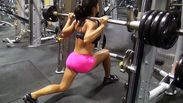 Michelle Lewin Butt and Legs Gym Workout!