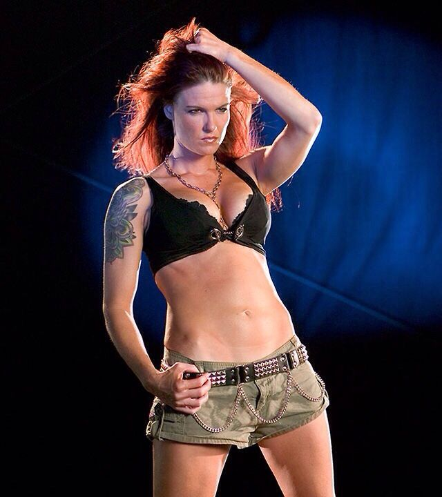 Naked Amy Dumas in WWE Divas