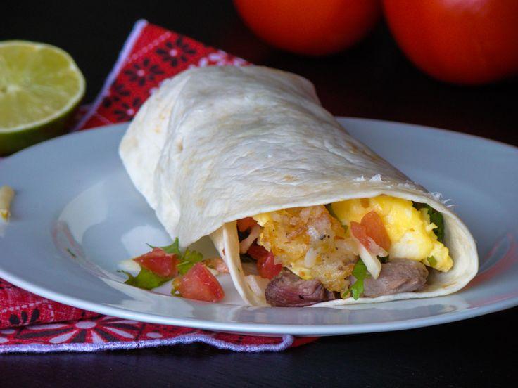 Mountain Man Steak and Egg Burrito | Budget Gourmet Mom