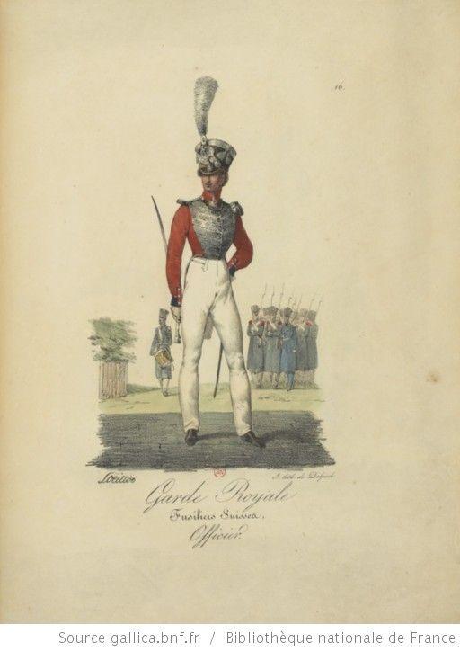 [Maison du Roi et garde royale de Louis XVIII, 1817.] / Ch. Aubry - 21