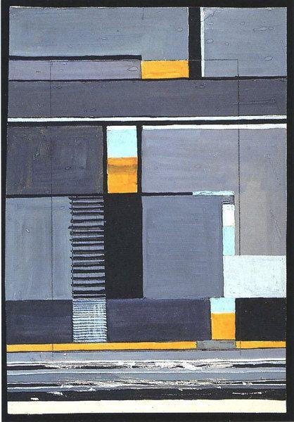 Gunta Stilzl Design for a wall hanging Bauhaus Weimar  31.5x22 cm