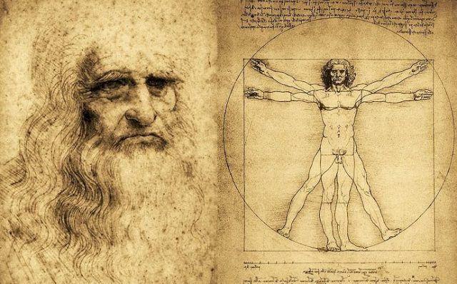 L'uomo Vitruviano di Leonardo diventa musica