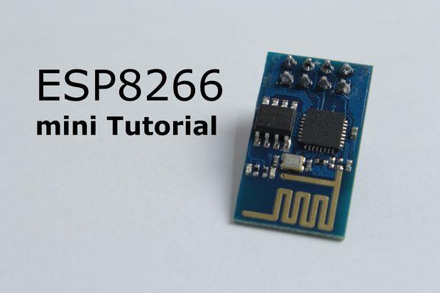 Picture of ESP8266 mini Tutorial