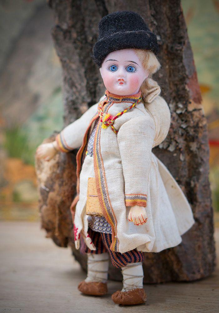 Кукла-мальчик русском в русском из Бартрамовских мастерских