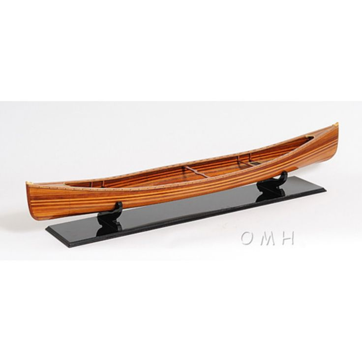 Old Modern Handicraft Canadian Canoe - B077