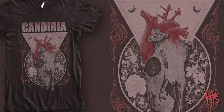 """""""Candiria - DeerHeart """" t-shirt design by RectopusArt"""
