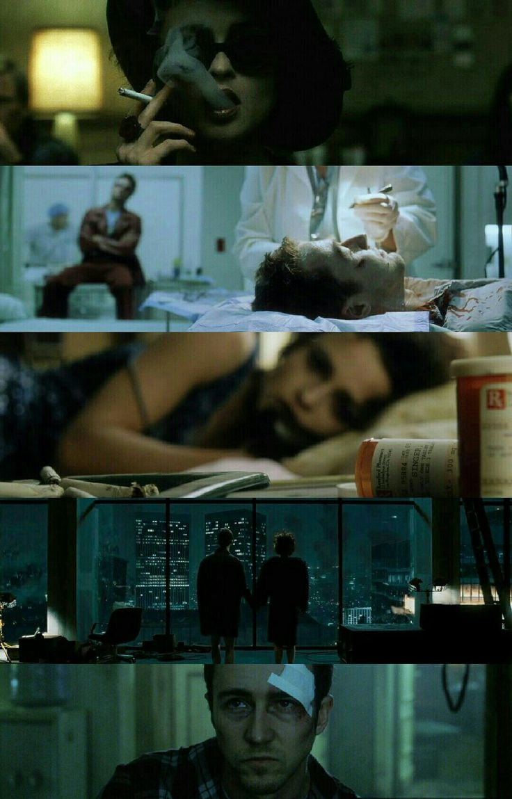 Fight Club (1999) Director: David Fincher. Photography: Jeff Cronenweth.