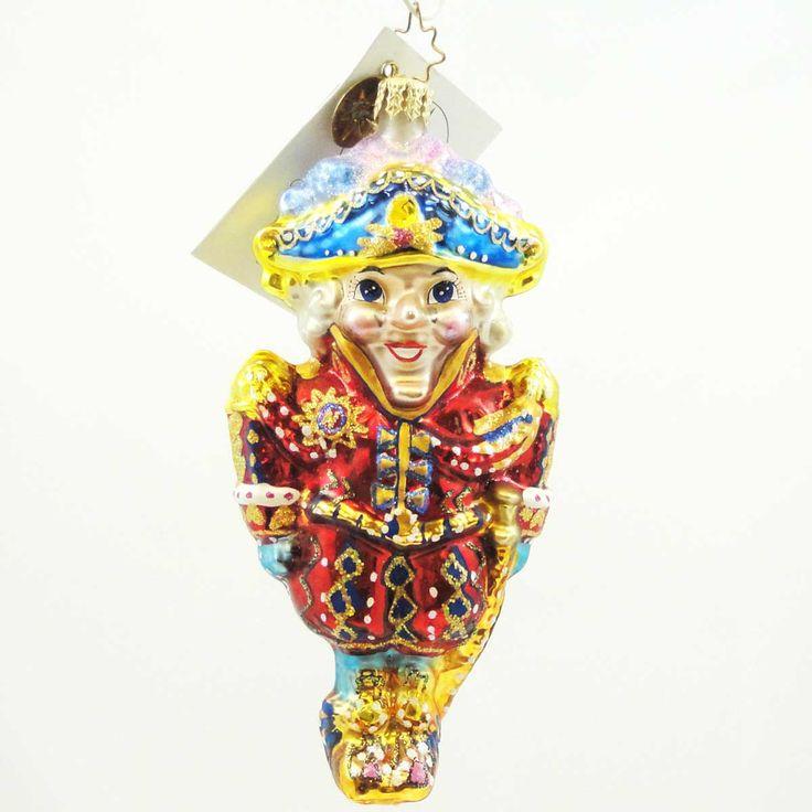 Christopher Radko Regal Regalia Glass Ornament