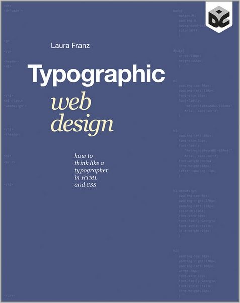 Typographic Web Design (Book) #type #font #typography #webdesign #design