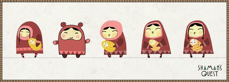 Evolution of character #character #concept #animation