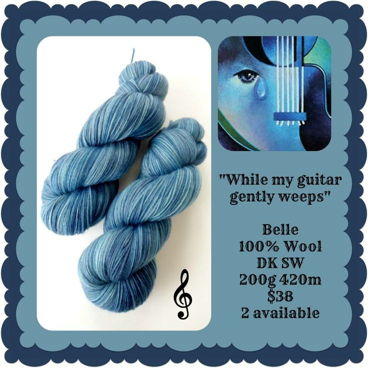 While My Guitar Gently Weeps - Beatlemania | Red Riding Hood Yarns