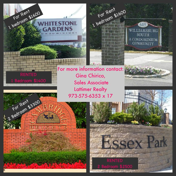 Condos Townhouses For Rent: 1000+ Images About Gina Chirico Essex County New Jersey