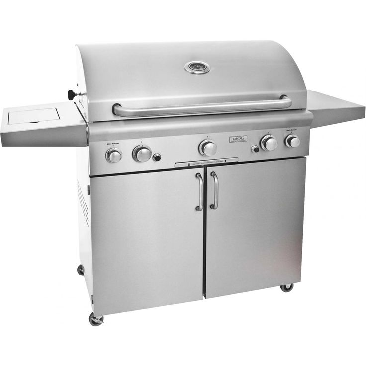 #AOGAmericanOutdoorGrill T-Series 36 Inch Natural Gas Grill On Cart W Rotisserie & Side Burner