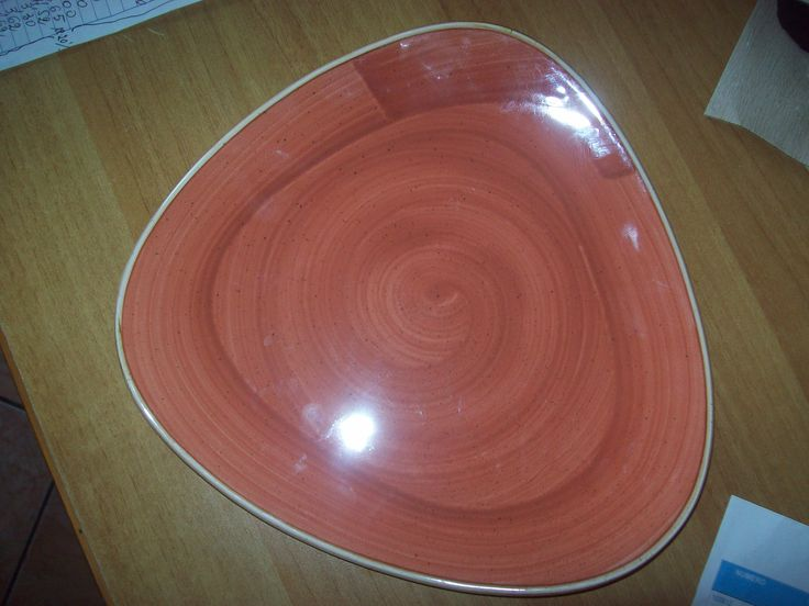 piatto triangolare cm 26,5