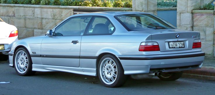 1995–1999 BMW M3 (E36) coupe
