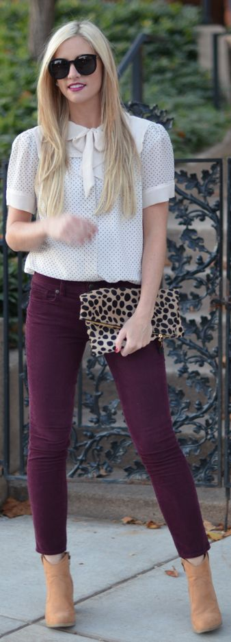 #Bordeaux by Little Miss Fearless => Click to see what she wears