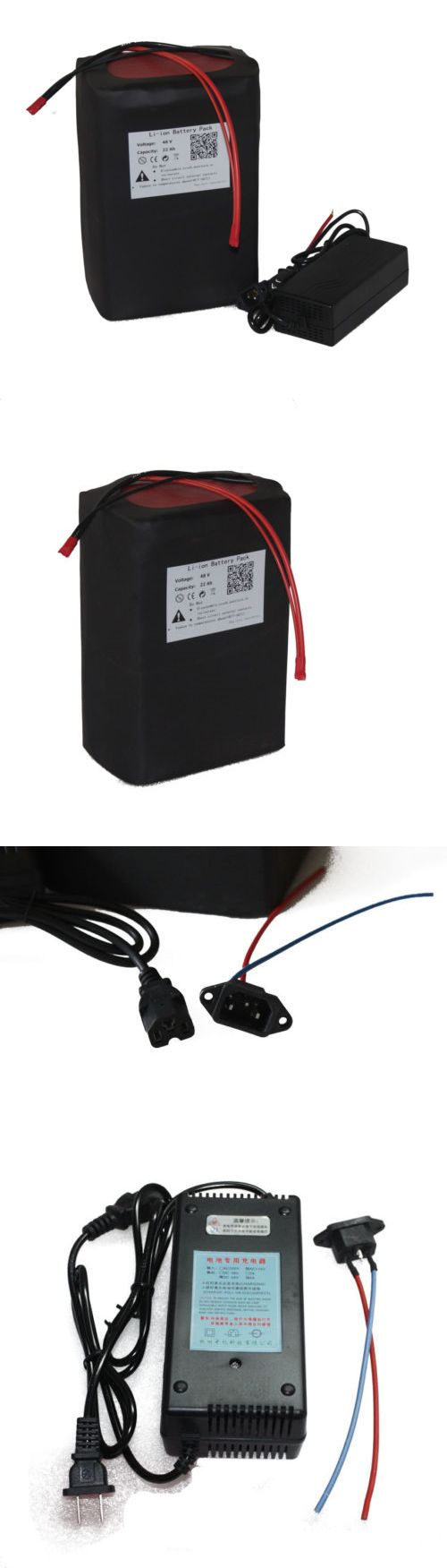 Electric Bicycle Components 177814: 48V22ah Lithium Battery Pack For E-Bike/Scooter With A Charger Bms 1000W BUY IT NOW ONLY: $441.0