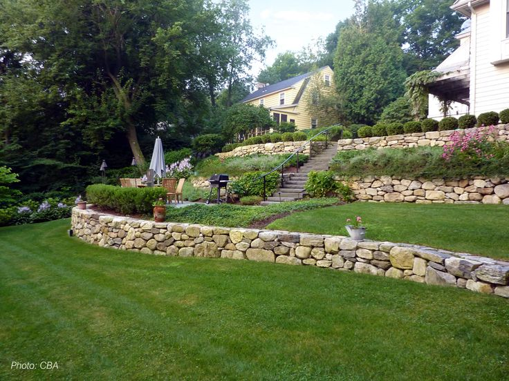 9819 best images about landcaping on a slope on pinterest for Pro design landscape