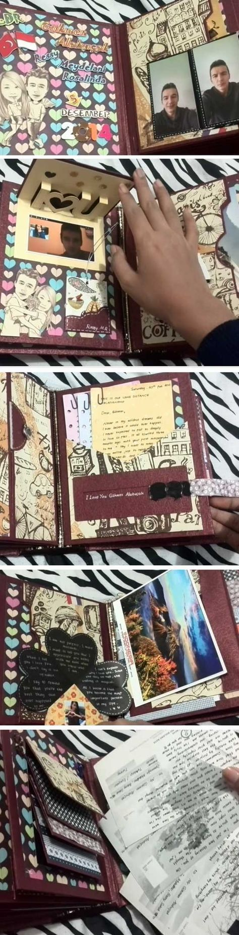 personalized-scrapbook | DIY Christmas Gifts for Men | Inexpensive Christmas Gifts for Him