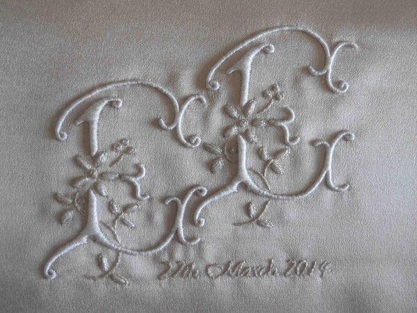 Christening Cushion – The Bluebird Embroidery Company